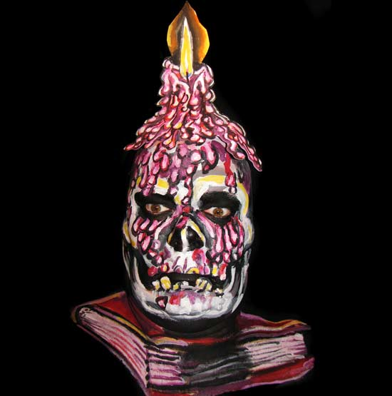 candle-book-facepaint