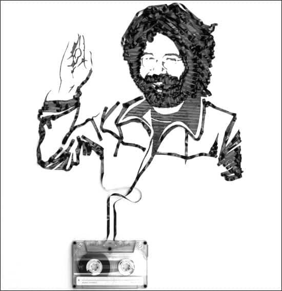 jerry-garcia-tape-art
