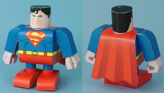 superman-papercraft
