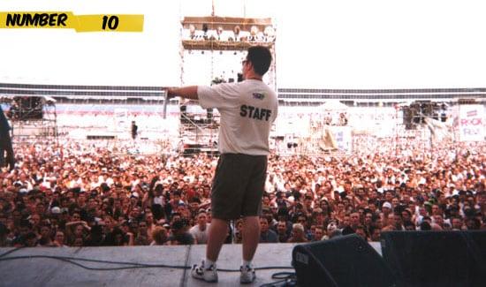 10 คอนเสิร์ตที่มีผู้ชมมากที่สุดในโลก