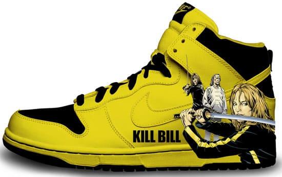 kill bill shoes