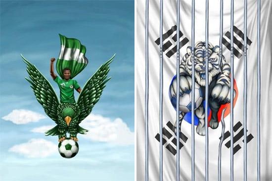 nigeria and south korea