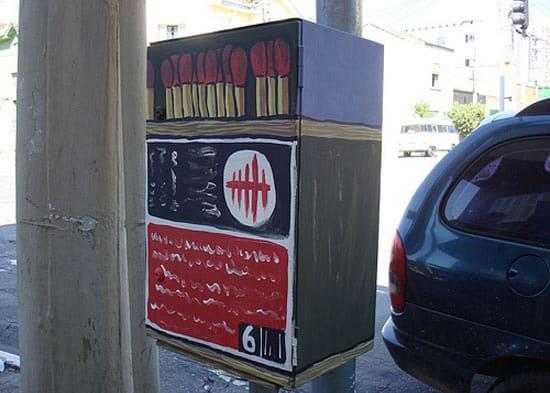 street-art-match-box