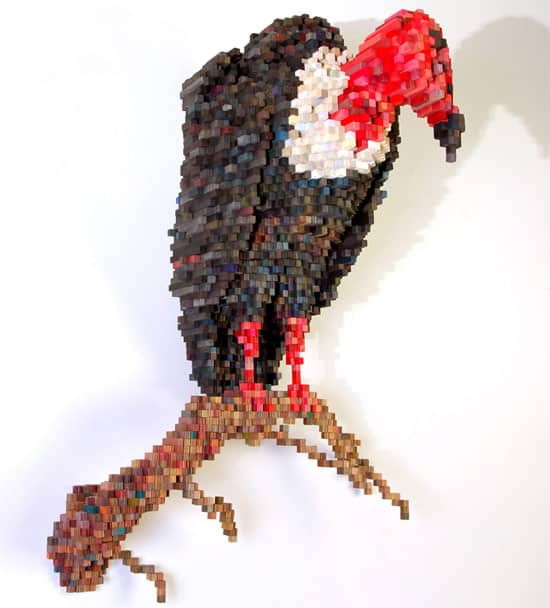 pixelate-vulture