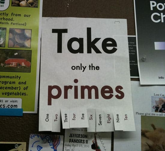 take-only-the-primes