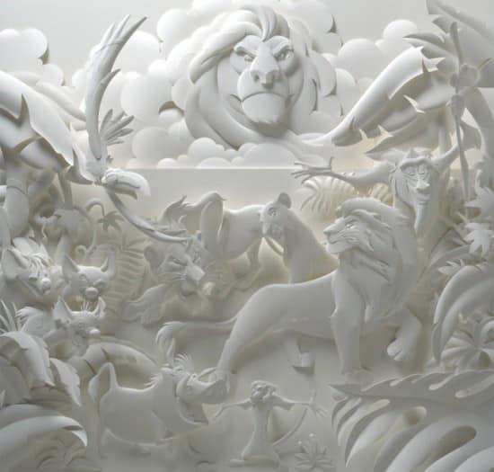 paper-art-lion-king
