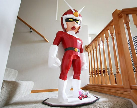 viewtiful-joe-paper-sculpture