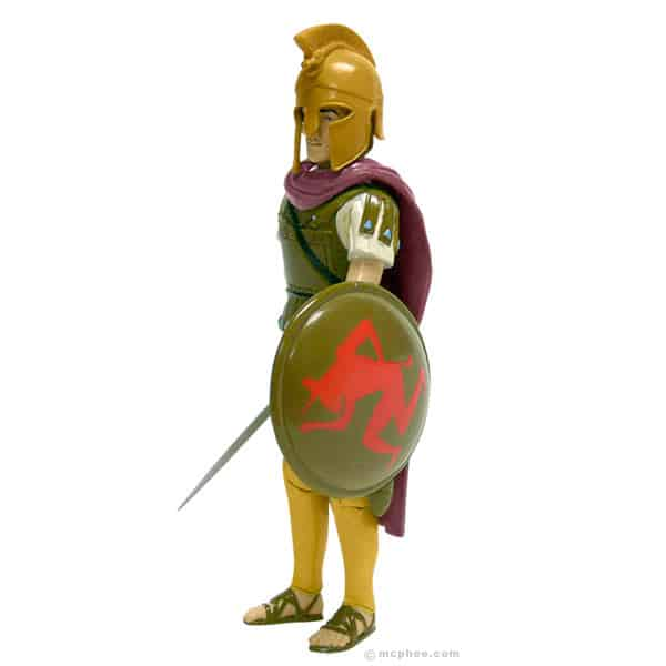 Alexander the Great Ready for Battle