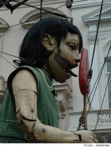 Lollipop puppet