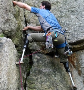 Amputee Climber