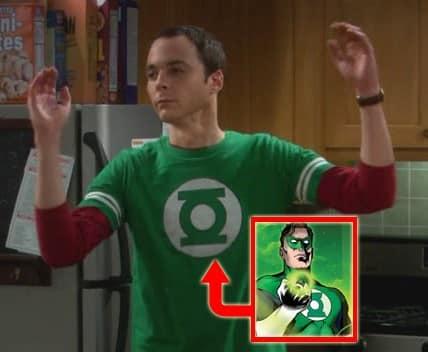 Sheldon Green Lantern