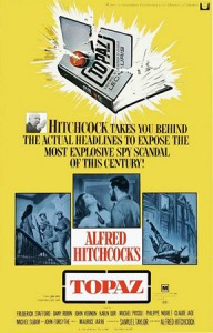 Alfred Hitchcock and Topaz