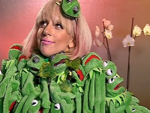 Shocking Lady Gaga Outfits and Muppet Coat