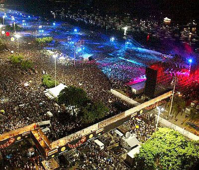 The Biggest Concerts in the World and Rod Stewart Copacabana Concert