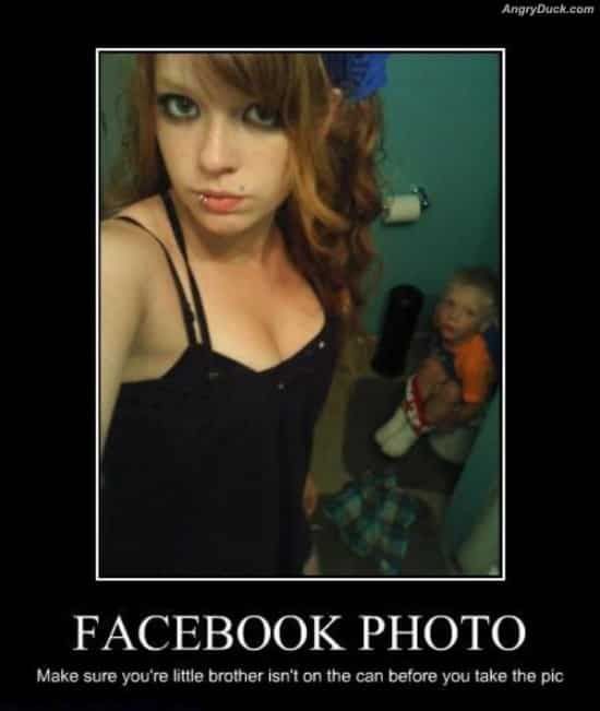 The Funniest Facebook Photo Memes and Background Annoyance