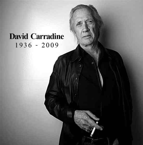 Unusual Celebrity Deaths and David Carradine