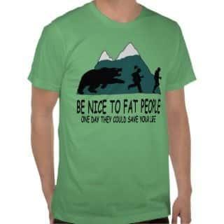 Least Funny T-shirt Jokes and the Bear Joke