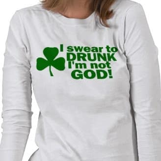 Least Funny T-shirt Jokes and the Drunk Joke