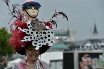 Wacky Jockey Hat