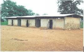 Run-Down School in Ghana