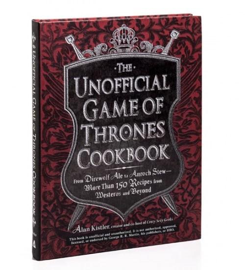 game of thrones cookbook