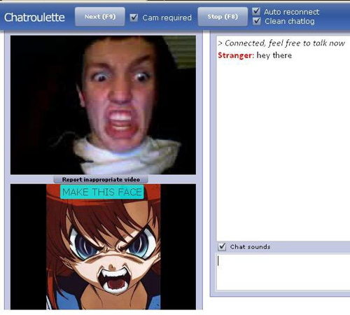 Chatroulette rules