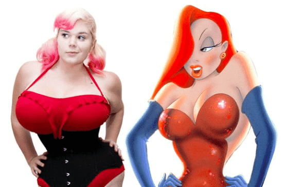 Plastic Surgery to Look Like Jessica Rabbit