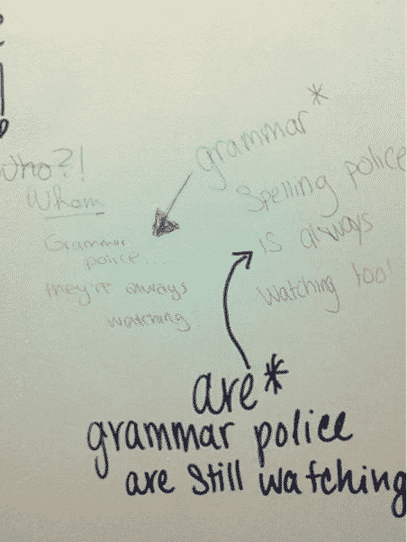 Best and Worst Grammar Police Examples