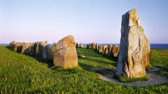 Ale's Stones, Sweden