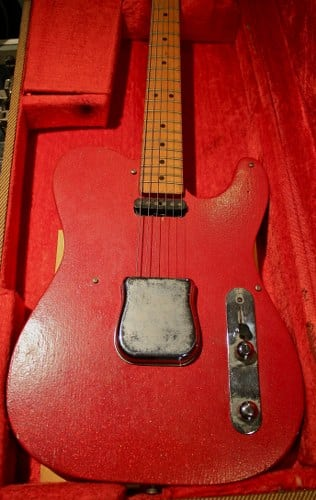 fender 1949 telecaster most expensive guitars