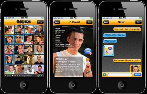 grindr gay app
