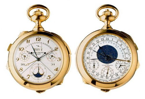 Patek Philippe Super Complication luxury watch