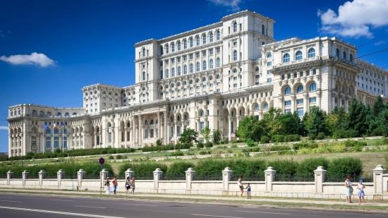 Romania Bucharest. Palace of Parliament