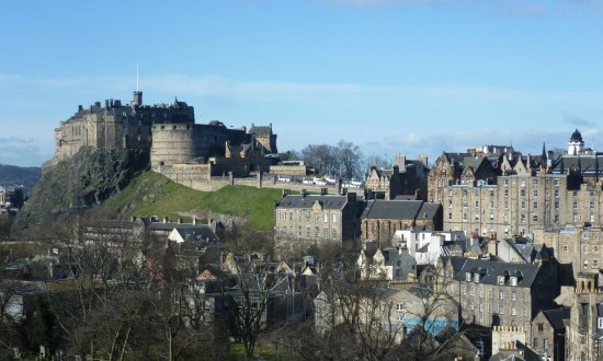 United Kingdom Edinburgh. Edinburgh Castle