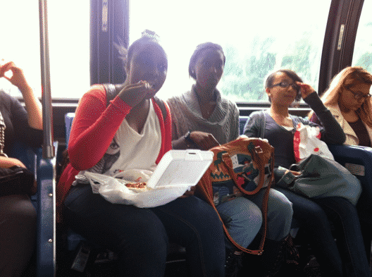 The Funniest Things about Public Transport and People Eating a Lot