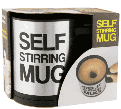 Pointless Products and the Self Stirring Mug