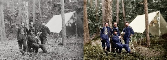 Black and White Pictures Colorized