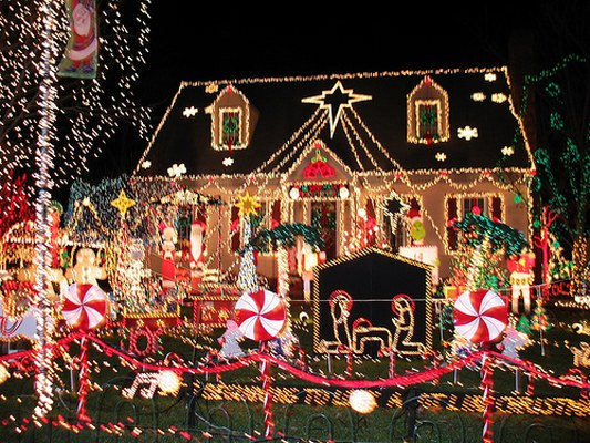 LED Christmas Lights not insane just passionate