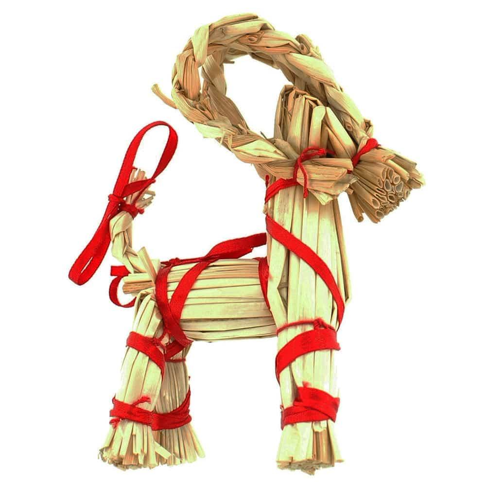 "Straw Goat - 4"""