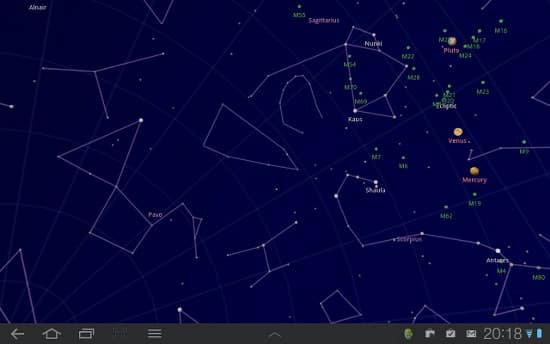 best augmented apps sky map
