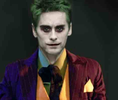 jared leto joker batman suicide squad