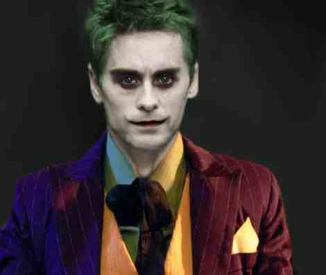 jared leto joker batman suicide squad