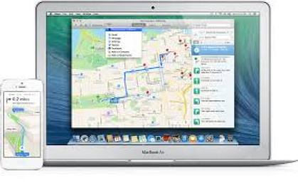 Maps with transportation directions