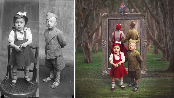 WWI Romanian Photos Restored And Brought To Life