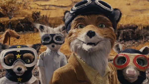 Fantastic Mr. Fox  is on the 8 Amazing Portraits from Wes Anderson Movies