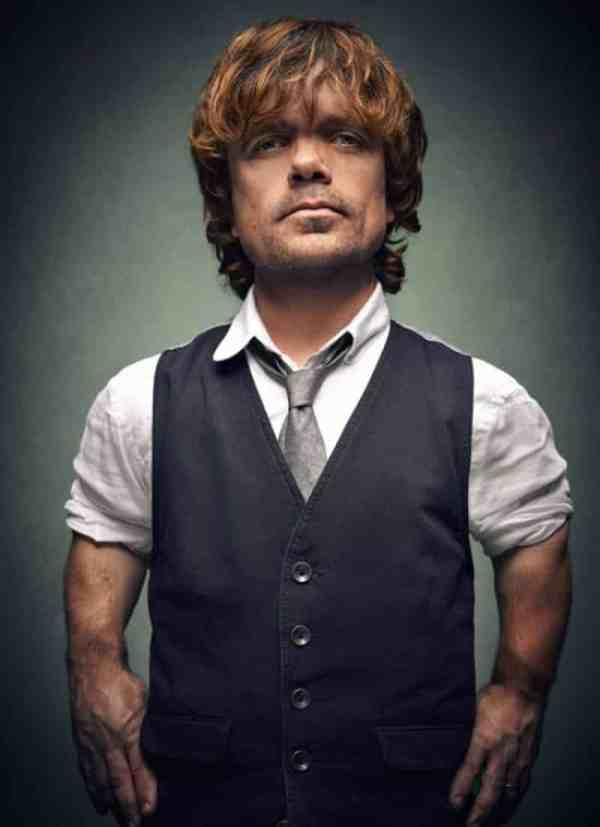 7 under-sized celebrities - PEter Dinklage