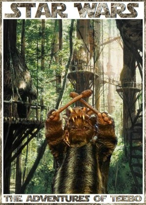 The harsh lives of the Ewoks have made it into our top 6 curious moments from the Star Wars history.