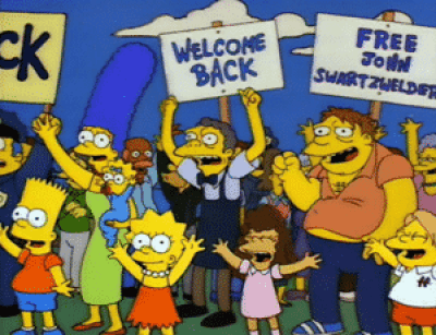 John Swartzwelder's appearances are part of the top 7 Simpsons gags you missed.
