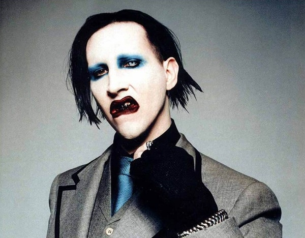 One of the 5 stars with a younger new flame is Marilyn Manson
