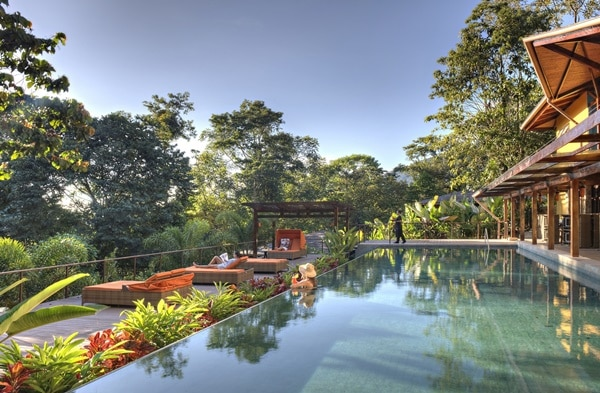 The list of 5 beautiful luxurious hotels includes Nayara Springs